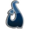 Ciemnoniebieskie logo